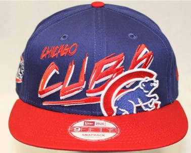 Chicago Cubs MLB Snapback Hat 60D5